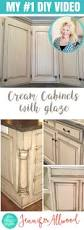 cream kitchen cabinets with glaze how to paint cream kitchen cabinets with a glaze kitchen decoration