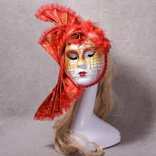 masquerade mask costumes for halloween compare prices on red masquerade masks online shopping buy low