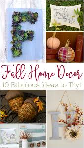 Home Decor Fall by 10 Fall Home Decor Ideas To Try Busy Being Jennifer