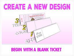 create a ticket template lukex co
