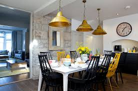 Different Color Dining Room Chairs To Use Yellow To Shape A Refreshing Dining Room