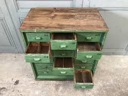 Vintage Small Desk by Vintage Small Green Workshop Cabinet For Sale At Pamono