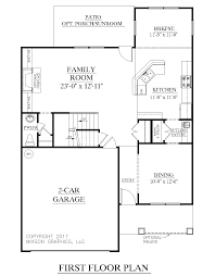 1 5 Car Garage Plans Houseplans Biz House Plan 2239 A The Magnolia A