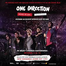 giveaway 2 passes to one direction where we are the concert film