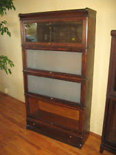 Macey Barrister Bookcase Barrister Bookcase 1900 1950 Ebay