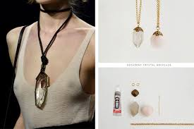 make crystal pendant necklace images Diy fashion accessories straight from the fall 2015 runways jpg