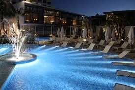 Lumascape Lighting Great Pool Lighting Design With Wibre Pool Lights In Perth