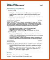 3 4 entry level marketing resume samples formatmemo