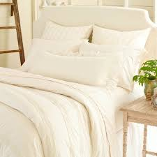 pine cone hill mod pintuck ivory duvet cover pine cone hill