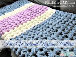 afghan crochet patterns easy crochet and knit