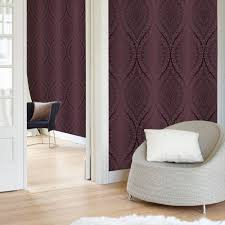 Purple Damask Wallpaper by Pink Damask Wallpaper Diy