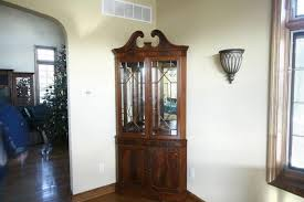 china cabinet small corner china cabinet hutch for dining room