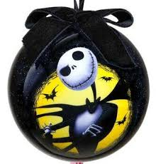 skellington decoupage ornament 2011 from our