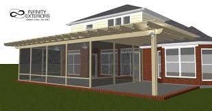 screened in porch plans pergola screened porches home design aluminum landscape edging