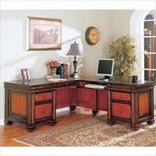 Solid Wood L Shaped Desk Oak L Shaped Desk Foter