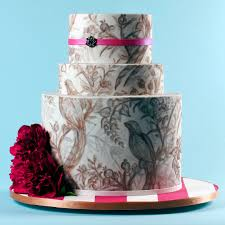 how to get a beautiful wedding cake without spending a fortune