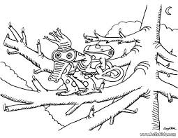 crocodile monster coloring pages hellokids
