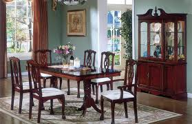 Dining Room Chairs Cherry Traditional Cherry Dining Room Set Pantry Versatile