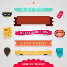 ribbons for sale sale vector banners and ribbons vector free vector in