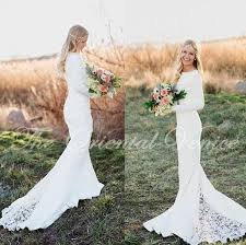 aliexpress com buy vintage lace mermaid bohemian wedding dress