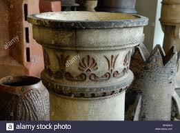 ornamental chimney pot amongst the collection of 2 500 owned by