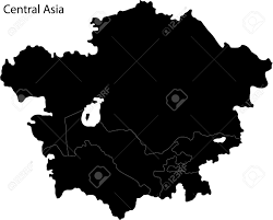 Map Of Central Asia by Map Of Central Asia Royalty Free Cliparts Vectors And Stock