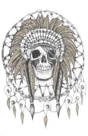 34 best indian skull tattoo designs images on pinterest indian