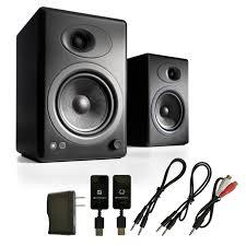 Bookshelf Powered Speakers Audioengine A5 Premium Powered Bookshelf Speakers With W3