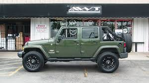 18 inch rims for jeep wrangler green 2008 jeep wrangler unlimited with 18 inch xd wheels