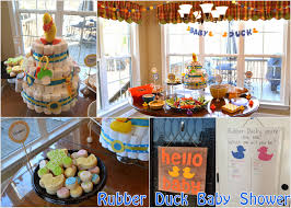 rubber duck baby shower laforce be with you