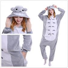 unisex amine totoro kigurumi onesie pajamas totoro costume