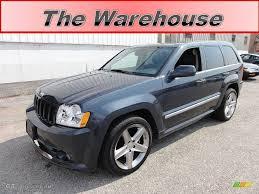 blue jeep grand cherokee srt8 2007 steel blue metallic jeep grand cherokee srt8 4x4 53117144