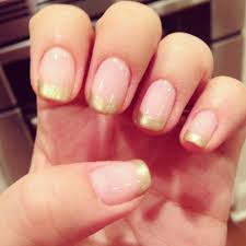 no chip manicure using the color