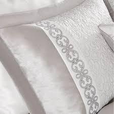 Black And White Comforter Set King Park Signature Arianne Comforter Set King Grey U0026 White Damask