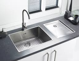 astracast onyx 4054 large bowl brushed stainless steel flush inset
