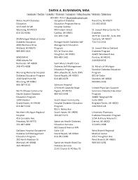key words in resume directory of diabetes organizations