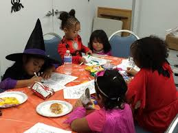 halloween fun at the family resource center the partnership for