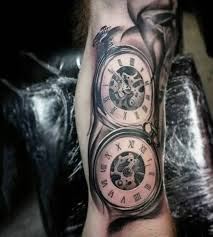 35 best cool watch tattoos images on pinterest pocket watch