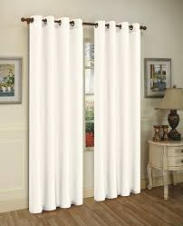 Sheer Grommet Curtains Inspiration Of White Grommet Curtains And Jv Textiles Solid Semi