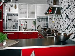 kitchen accessories and decor ideas black and red kitchen decor ideas large size of kitchen cool red
