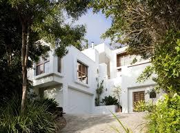 outdoor courtyard stunningly reinvented australian home features towering indoor