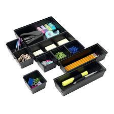 Desk Organizer With Drawer by 10 Piece Interlocking Desk Organizer At Home At Home