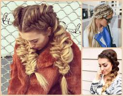 party hairstyle side french braid reverse braid bridal