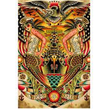 refuge print by bredeweg traditional