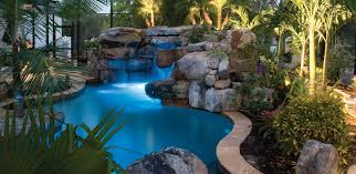 natural lagoon pool with spa stream outdoor kitchen lucas lagoons natural lagoon pool with spa stream outdoor kitchen lucas lagoons with image of cheap lagoon swimming pool designs