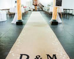 wedding aisle runner aisle runner etsy