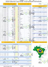 Excel Spreadsheet Development World Cup 2014 Schedule Excel Template Excel Vba Templates