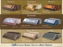 burial caskets vaults caskets