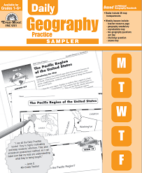 Map Practice Free Sampler In Daily Geography Practice 36 Map Lessons