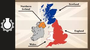 Map Of Scotland And England by The Difference Between The United Kingdom Great Britain And